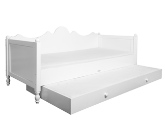 Belle bedbank met lade