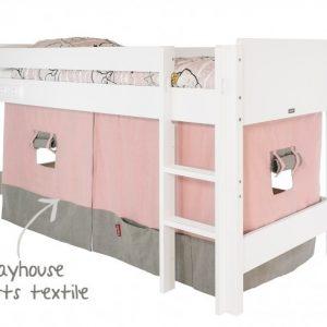 Combiflex halfhoogslaper speelhuisje roze