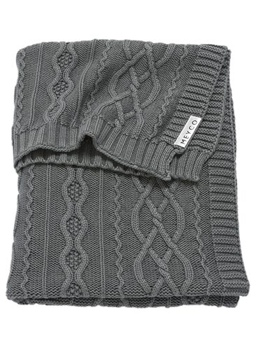 2753071-Meyco-deken-100x150-Stonewashed-Cable-grijs-g