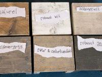 Kleuren steigerhout indewijdewereld
