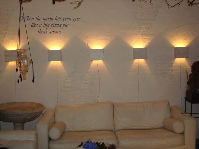 Steigerhouten vintage wandlamp leuk in de babykamer of for Wandlamp woonkamer