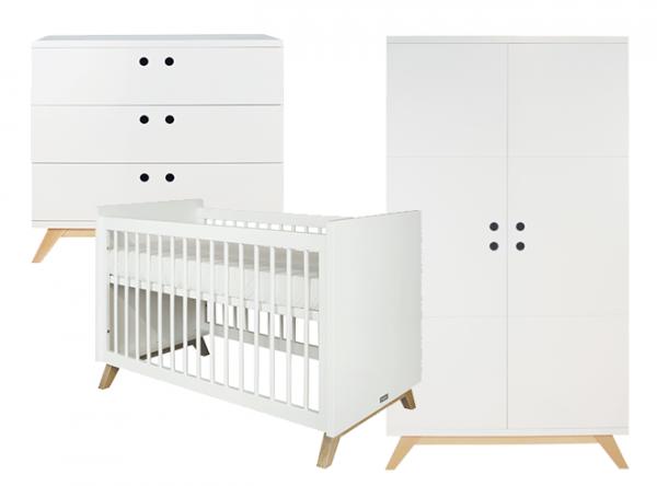 Complete Aankleding Babykamer.Lynn Complete Babykamer Bopita Scandinavisch Bij In De Wijde Wereld