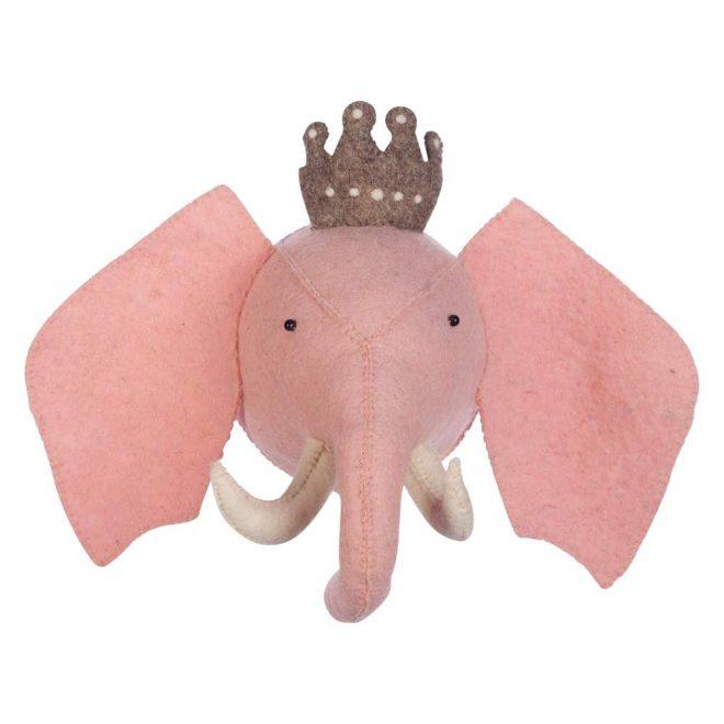 Dierenkop Princess Elephant