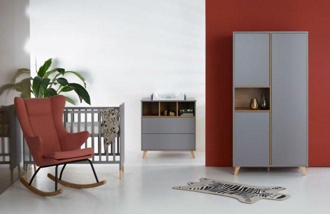 Loft grey complete babykamer