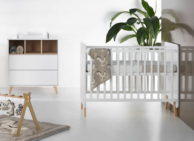 Loft babykamer