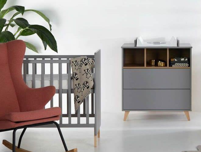 Loft grey babykamer
